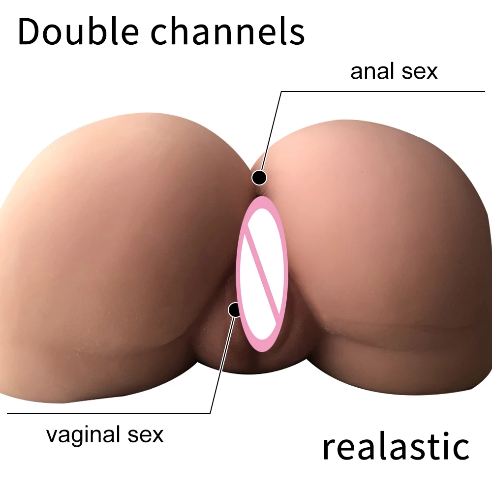 Factory sale 6 KG 3D Realistic life size fantasy pussy ass masturbator for man Both vagina and anus can be used for intercourse
