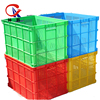 mesh plastic crate/plastic turnover box/plastic basket for fruit and vegetable