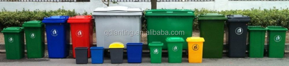Hdpe Plastic Dustbin With Four Wheels Industrial Dustbin 1100l ...