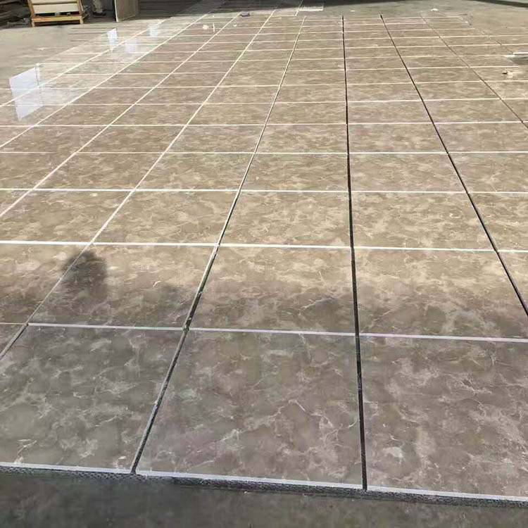 600x600 Beautiful Bossy Grey Marble Car Porch Floor Tile View