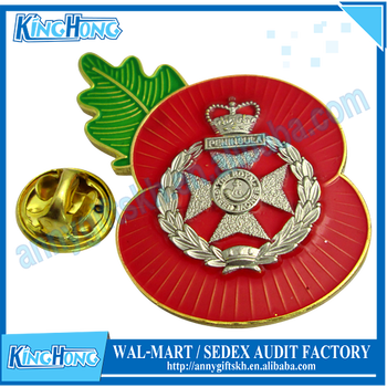 2015 Memorial Day Royal Green Jackets Poppy Pin - Buy Poppy Pin,Enamel Pin  Badge,Uae National Day 42 Magnet Lapel Pin Product on Alibaba com