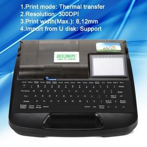 Little Bee cable ID printer tube printer ferrule printing machine BEE200