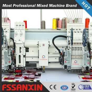 Super quality chain stich mixed embroidery machine in china for sale