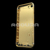 Luxury gold plated back cover housing, full diamond gold housing for iPhone 7
