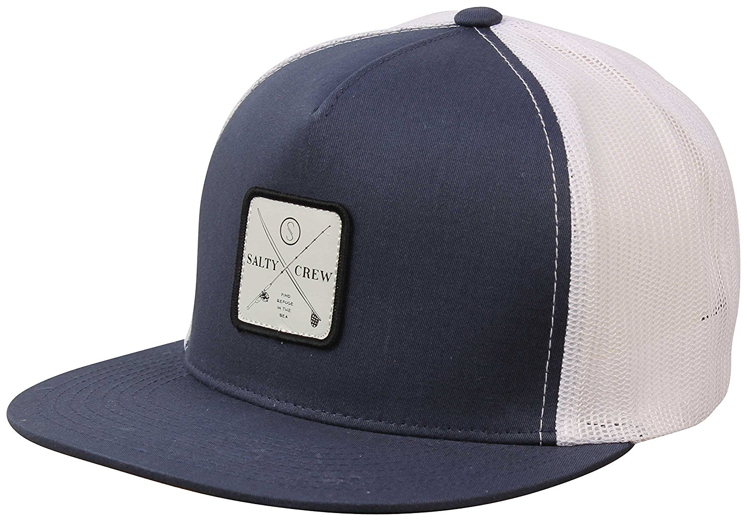 6071b411c43 Get Quotations · Salty Crew Chart Trucker Hat - Navy White