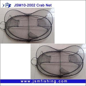 Ingot fishing crab nets/ Foldable Nylon Crab Nets JSM10-2002