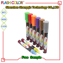 Custom Promotional Gifts Writing Liquid Chalk Marker Set 10- Bullet Chisel Nib Smooth Ink Dry Fast And Clean Erase With New Cap