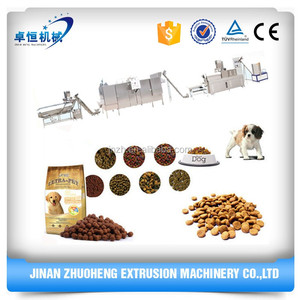 2016 China Auto Pet Food Extrusion Cooking Machine/floating Fish Feed  Extruder