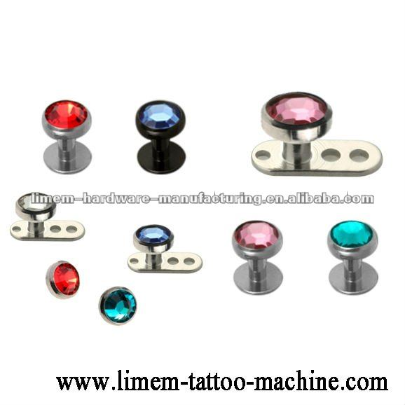 dermal anchor oder skin diver