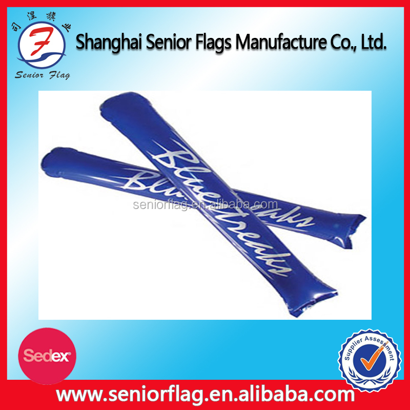 Custom Balloon Cheering Stick, Inflatable Cheering Stick