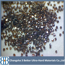 industrial synthetic Nickel Titanium coating diamond CBN powder coated synthetic diamond grit