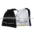 Jewelry Pouch Wholesale Timepieces Jewelry Eyewear Black Cotton Pouch Bag