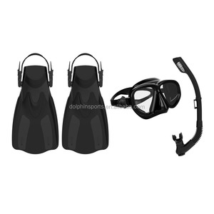 high quality professional diving equipment customize diving mask + snorkel + fins for wholesale factory cheap price