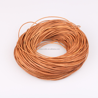 2mm Leather Cord NATURAL Natural Dye Leather Pale Light Brown Leather Lace for Wrap Bracelets