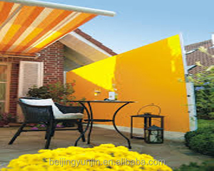 European style easy fixing aluminum retractable awnings