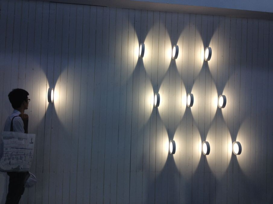 Outdoor Cob Led Electrical Wall Light Fitting