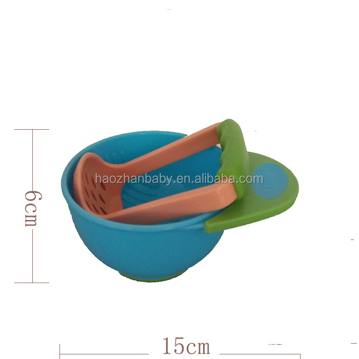 best quality baby products soup bowl with spoon