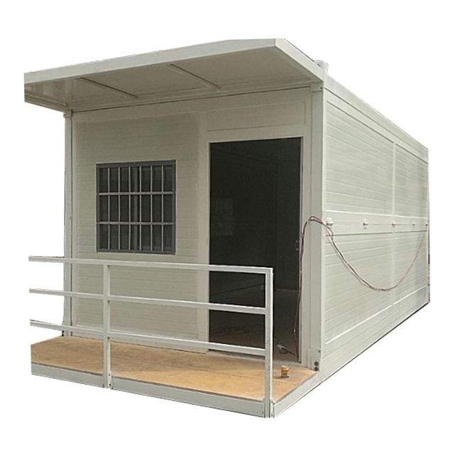 Extended Opvouwbare Prefab Container Huizen/vouwen geprefabriceerde huis