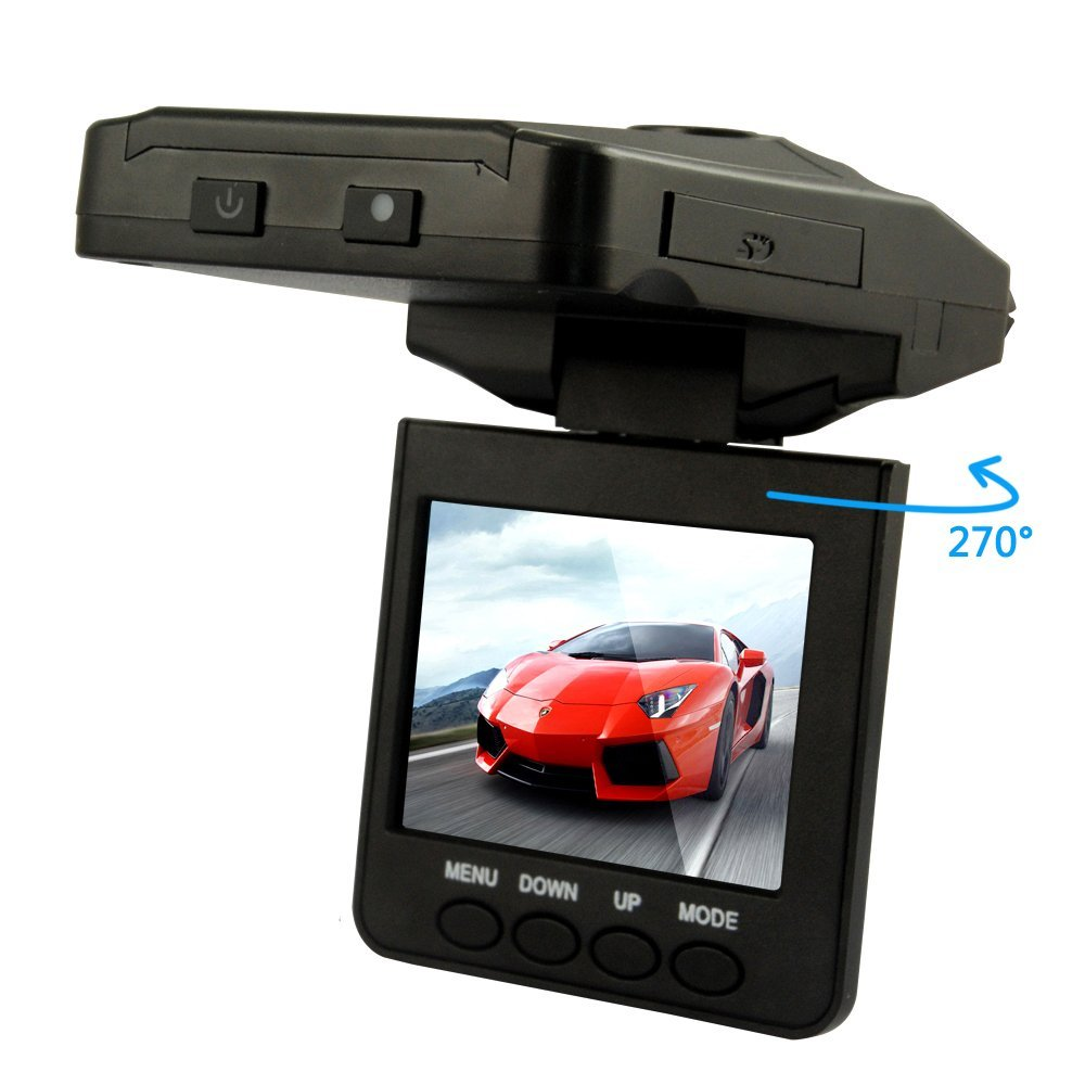 6-LED Night Vision Mini Hidden Car Dvr Camera Insurance Auto Quote Video Cam Recorder