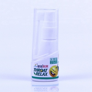 Throat Relaxing Spray Fresh Breath Spray No Artificial Flavors Relieving Sore Throat