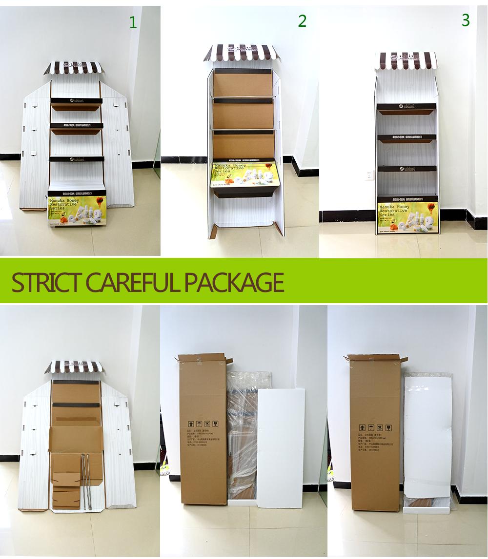 Personalizado Corrugado Muebles De Cart N Pantalla Pantalla De  # Muebles De Caeton