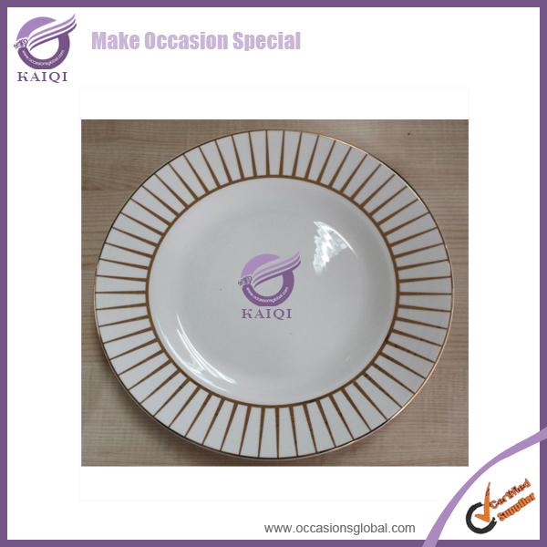 Hotel Wholesale Cheap Bulk China Dinner Dessert Plates Small White Porcelain