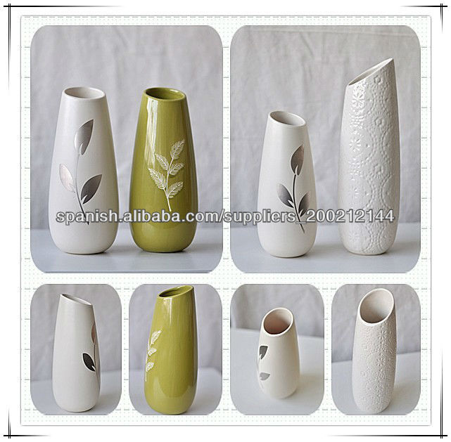 Pintado a mano florero de cer mica decoraci n de cer mica for Productos para ceramica