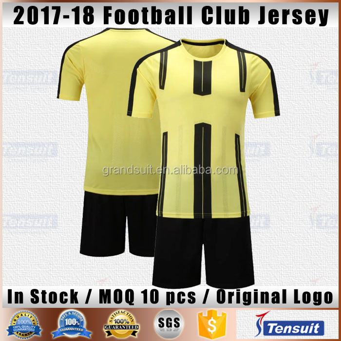 New season team football jerseys good thai quality sports training jersey new model online cheap soccer sportswear shop in China
