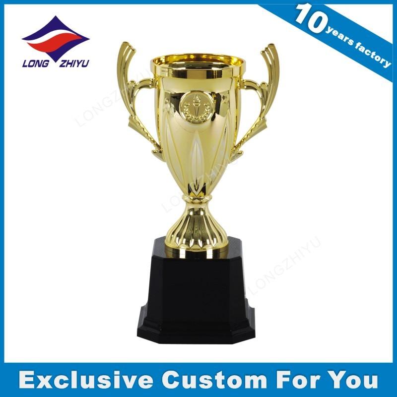 Cheap Wholesale Trophy Parts Plastic Trophy Cups For Event