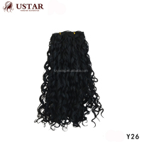 2017 Hot Sale Short Curly Wig Braids expression No Mix Any Synthetic Peruvian Hair