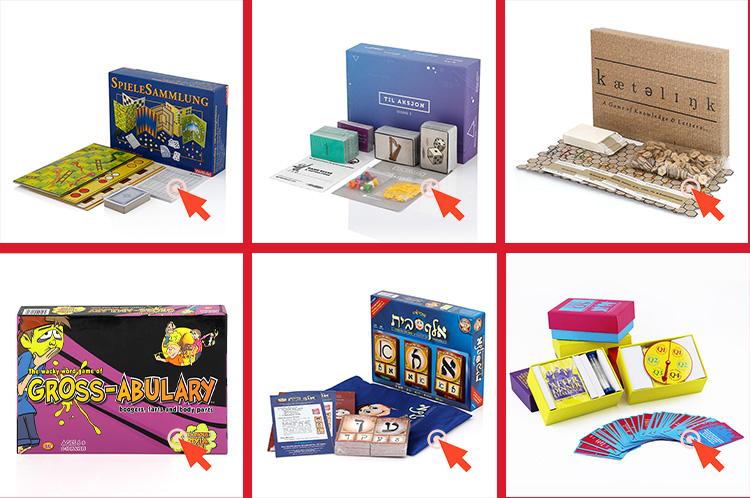 Kustom Papan Permainan Printing Keluarga Papan Permainan Kotak