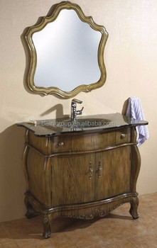 Bisini Bagno Classico Vanità Piano In Marmo; Armadietto A Specchio ...