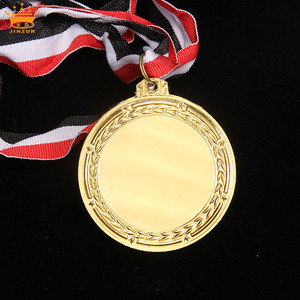 China supplier wholesale good market custom metal sports awards trophies blank medals custom medal
