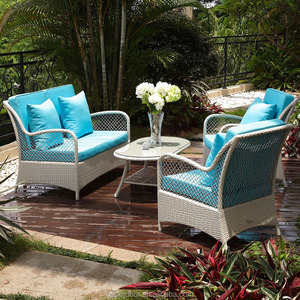 Aluminium frame patio furniture outdoorcheap wicker furniturerattan sofa