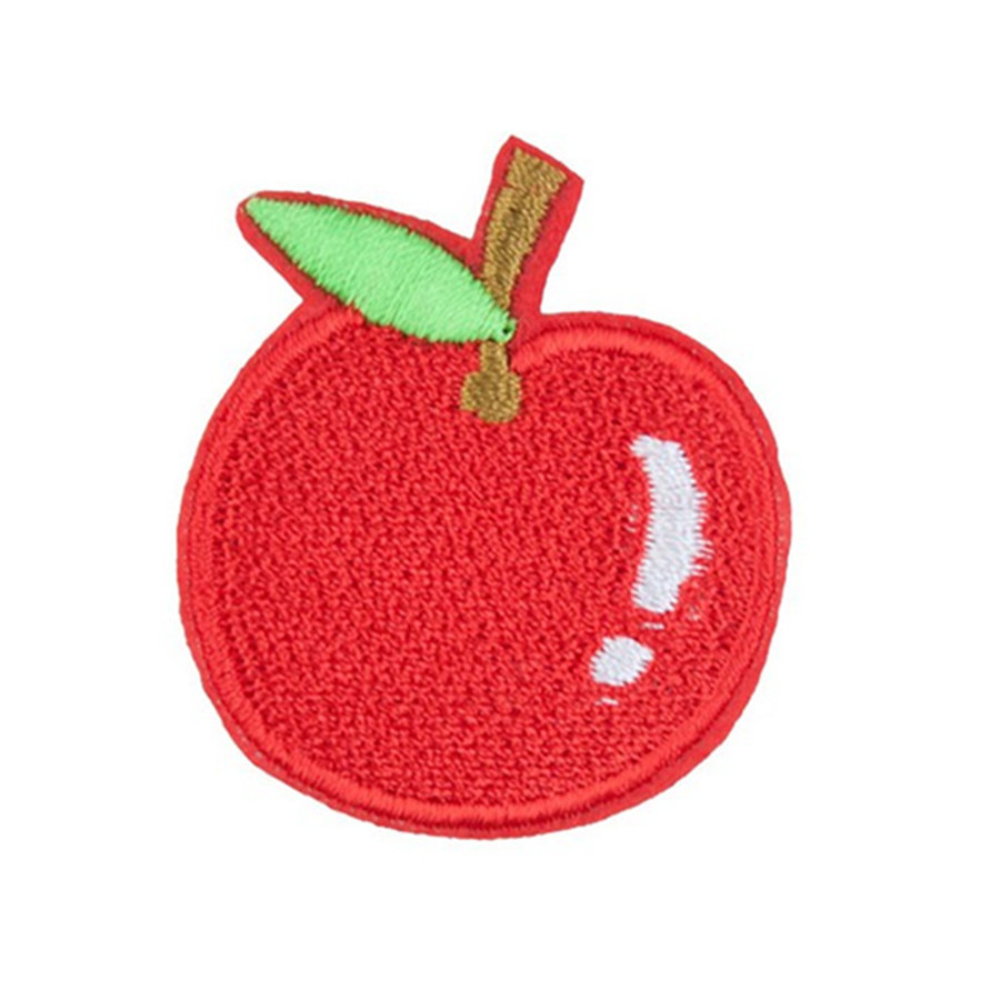 Fruit Banana Embroidered Iron on Patches for Clothing DIY Apparel Accessories SL