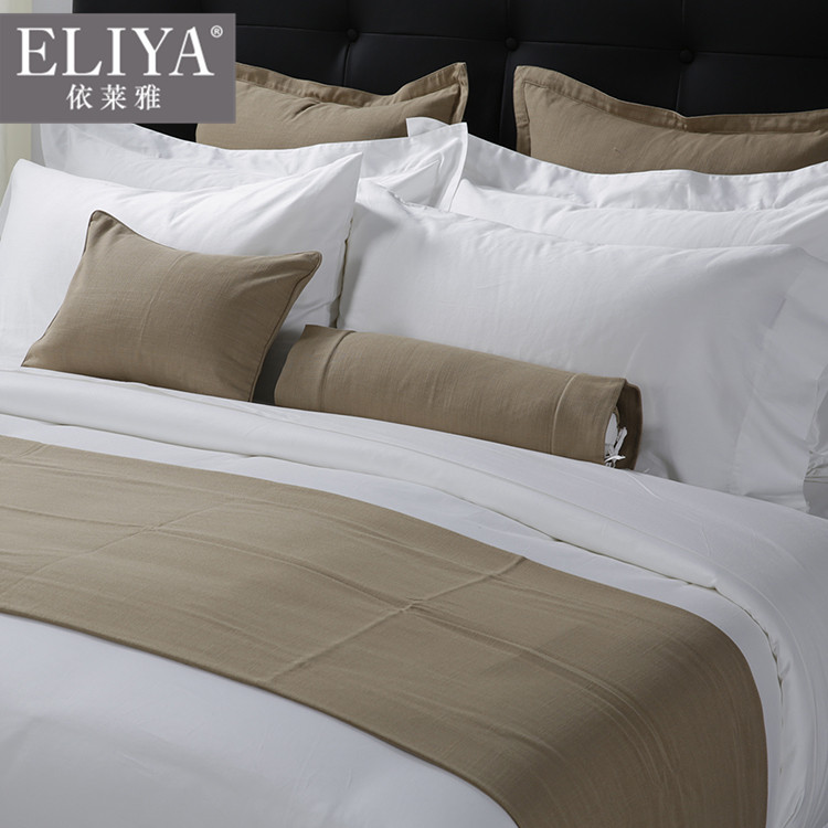 Custom Luxury Hotel Living 5 Star Luxury Home Bedding Collection Cotton  Sheets,100% Cotton