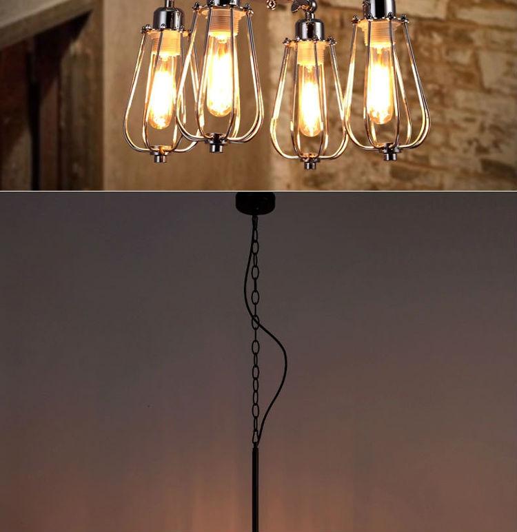 Gift,Metal Guard Pendant Lamp Vintage Pendant Lamp Loft Pendant ...