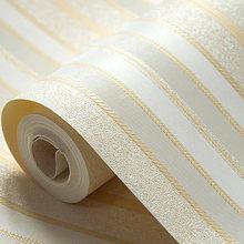 Вертикальные полосатые обои для гостиной, водонепроницаемые моющиеся обои из ПВХ, 6 цветов, papel contact papel de parede listrado(Китай)