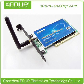 DRIVERS UPDATE: EDUP 54MBPS11MBPS WIRELESS LAN CARD