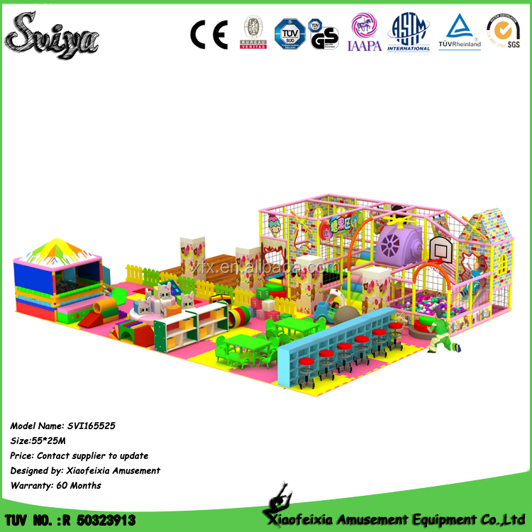 Party pleasure children soft play equipment for 0-5 year olds