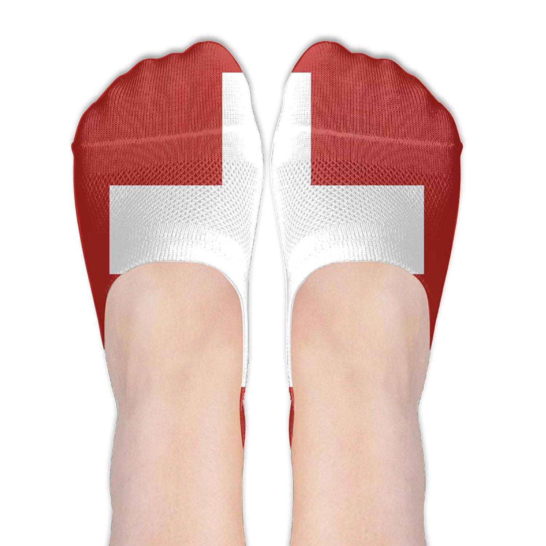 Switzerland Flag Invisible Socks Low Cut Socks Liner Socks Cotton Socks Casual Socks Crew Socks Shirt Shoes