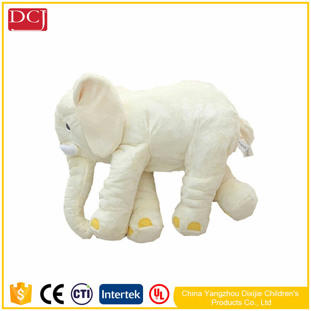 Wholesal Hot Selling Baby Children's Elephant Pillows Soft Plush Stuff Dolls Soft Plush Toys Lumbar Pillow