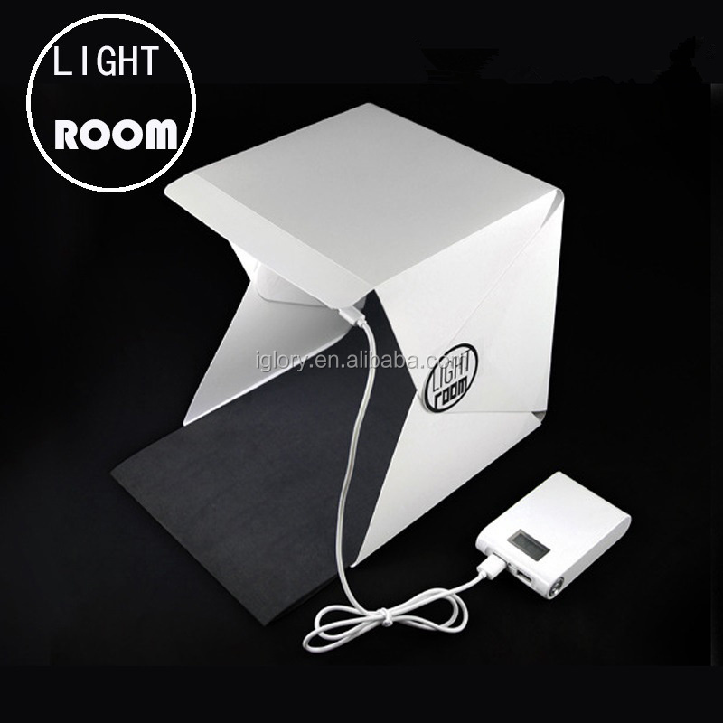 Portable Mini LED Photo Studio Box Light Photo Box Lighting Desktop Softbox Mini Photo Studio Box