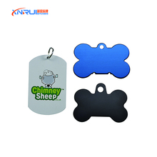 Pet Tags ID Custom Double Sided FREE ENGRAVED Dog Cat Name Charm Tags