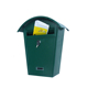 YOOBOX green outdoor cast iron mailboxes for houses