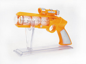Plastic battery operated toy gun/B/O gun toy for kids!