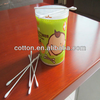 mini cotton buds (cotton Stick) for baby use