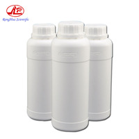 1000ml HDPE Bottle Thick Round Anti-corrosion Plastic White Bottle Cap Anti-infiltration Fluorinated Bottle
