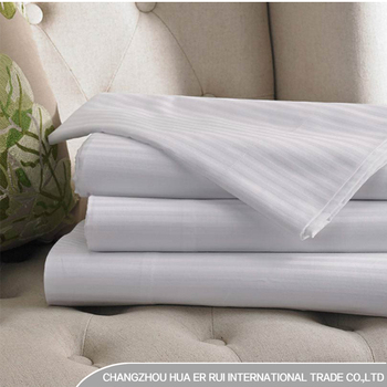 100% Cotton Hospital Hotel Used Flat Bed Sheets Fitted Bed Sheet For  Full/queen