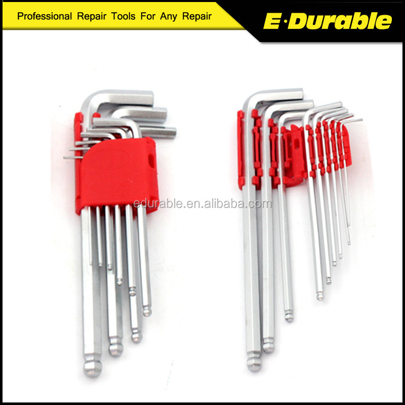 9pc Folding Holder Hex key Set/Allen Key/Wrench Tool